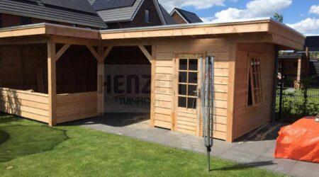 Wonderlijk Henzen Tuinhout – Beton-hout schuttingen, douglas tuintimmerhout YV-47